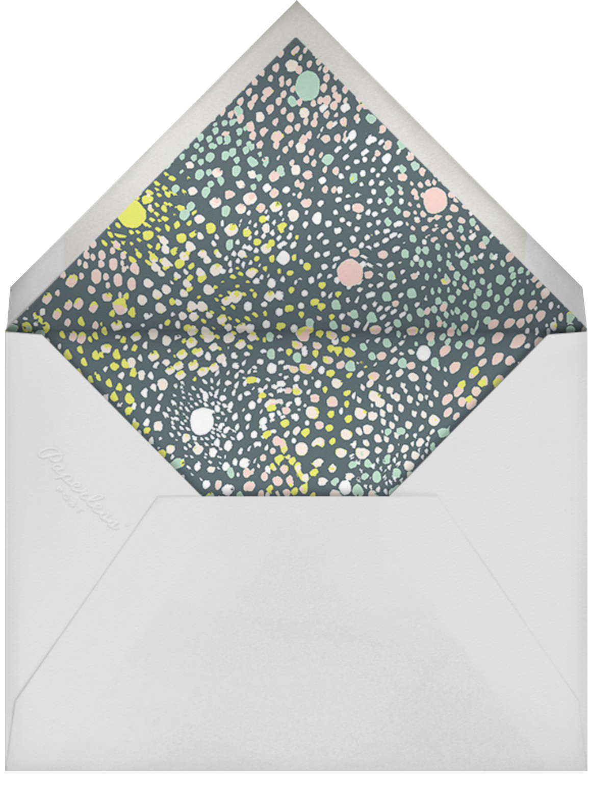 Gracie - Liberty - Adult birthday - envelope back