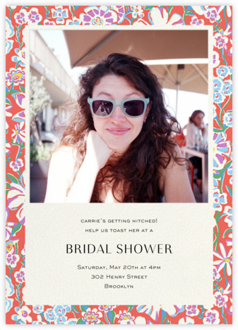 Annabel - Liberty - Bridal shower invitations