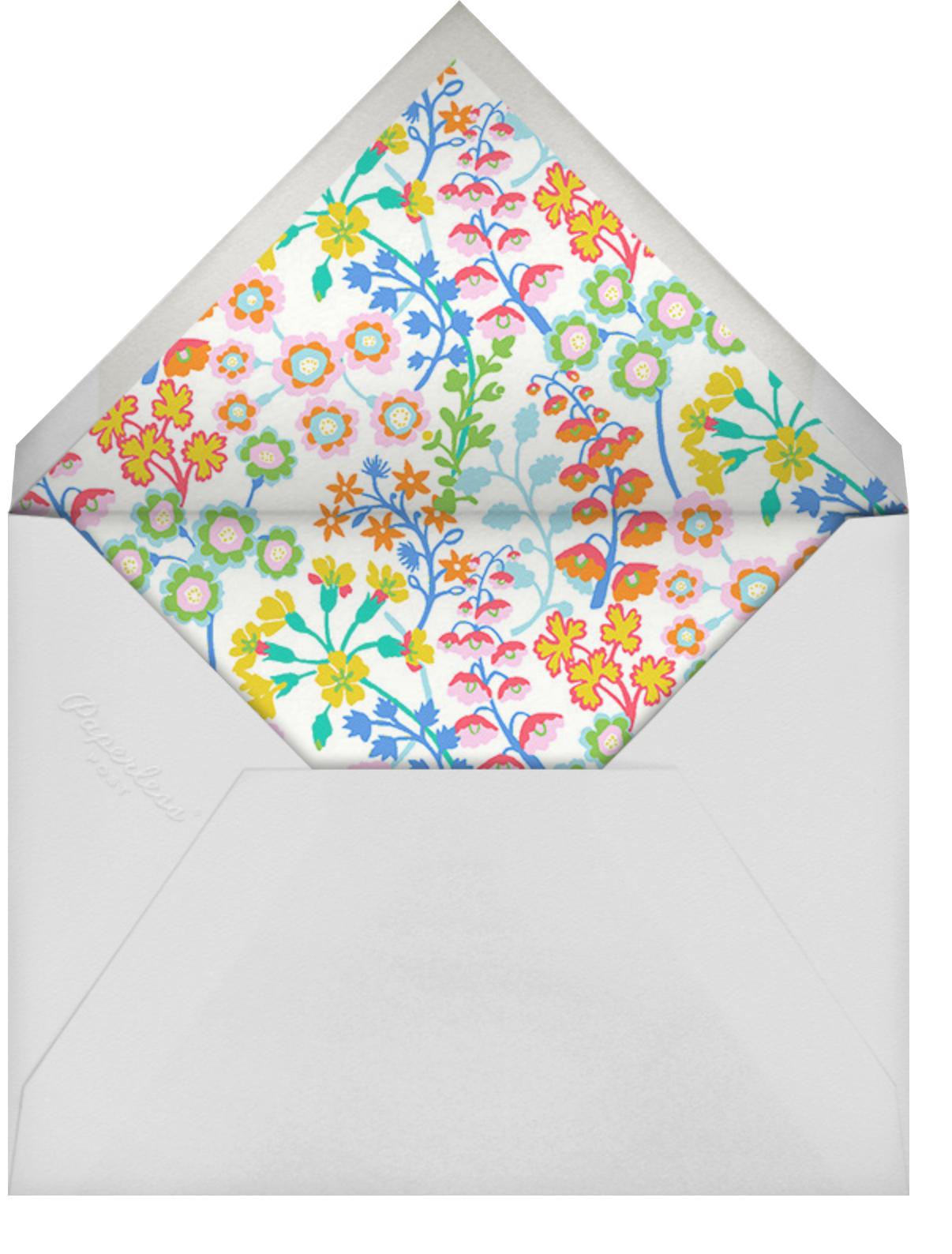 Georgiana - Liberty - Adult birthday - envelope back