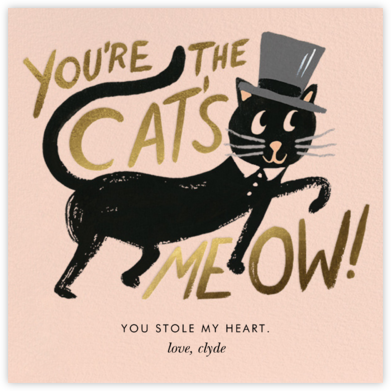 Cat's Meow - Rifle Paper Co. - Valentine's Day Cards
