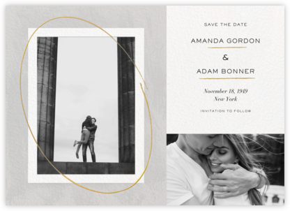 Inner Circle - Paperless Post - Modern save the dates