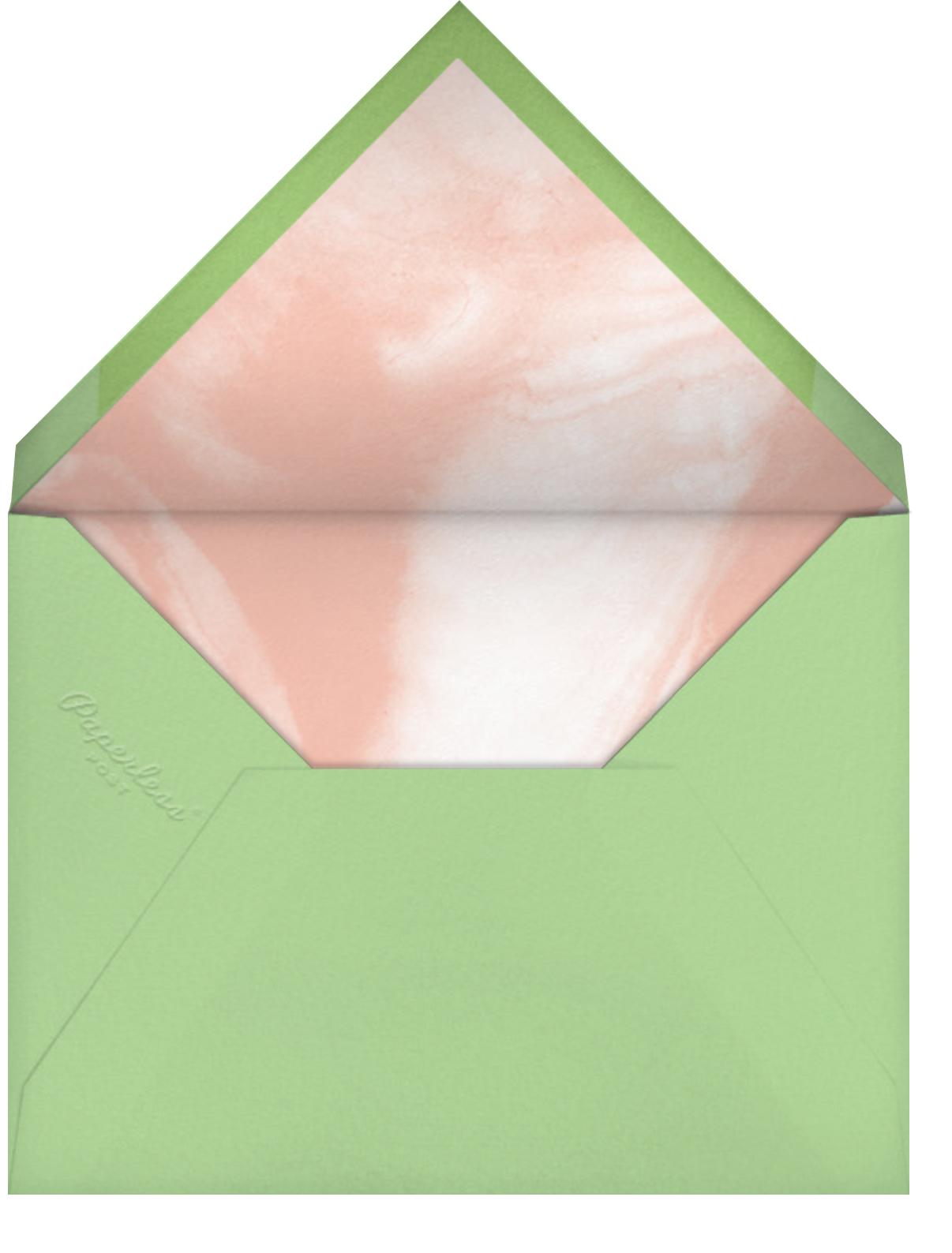 Fresh Leaves - Pavlova - Paperless Post - Photo  - envelope back