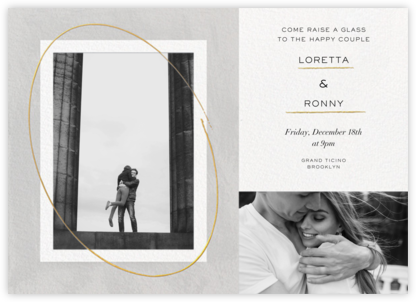 Inner Circle - Paperless Post - Engagement party invitations