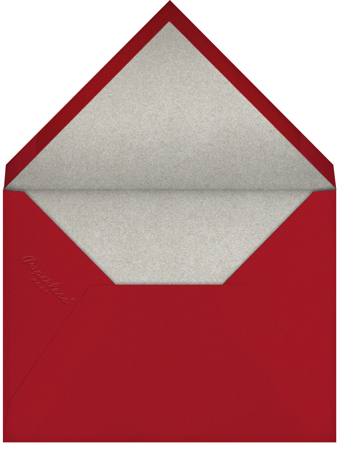 You Make My Heart Race - Paperless Post - Valentine's Day - envelope back
