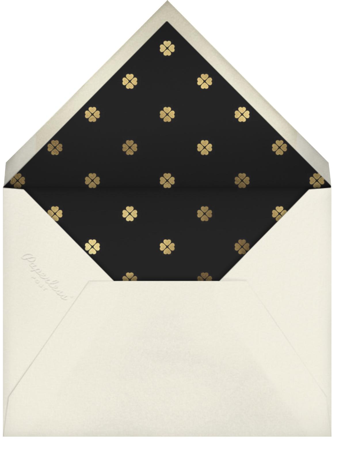 Flower Patch - Mauve - kate spade new york - Birthday - envelope back