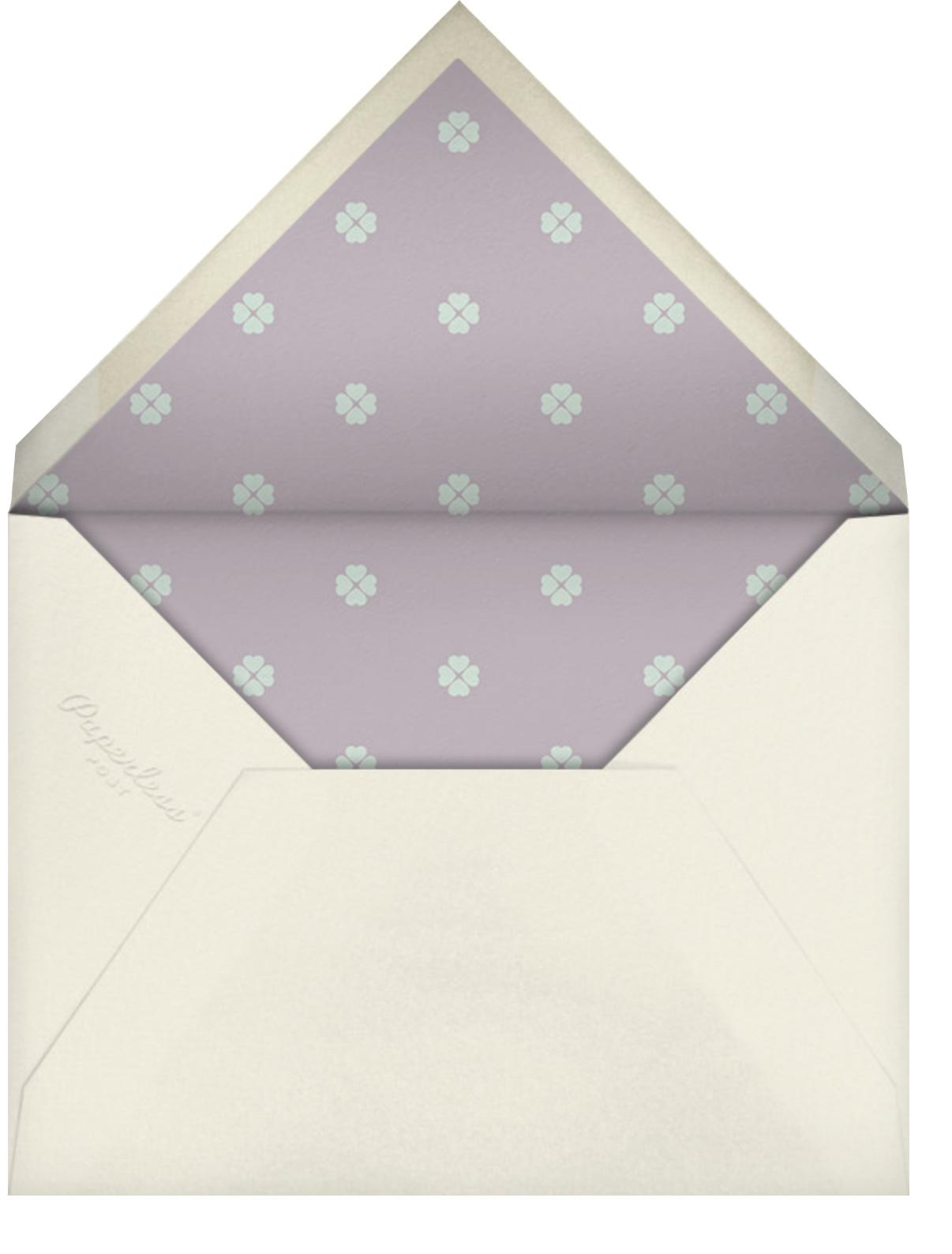 Flower Patch - Antique Pink - kate spade new york - Brunch - envelope back
