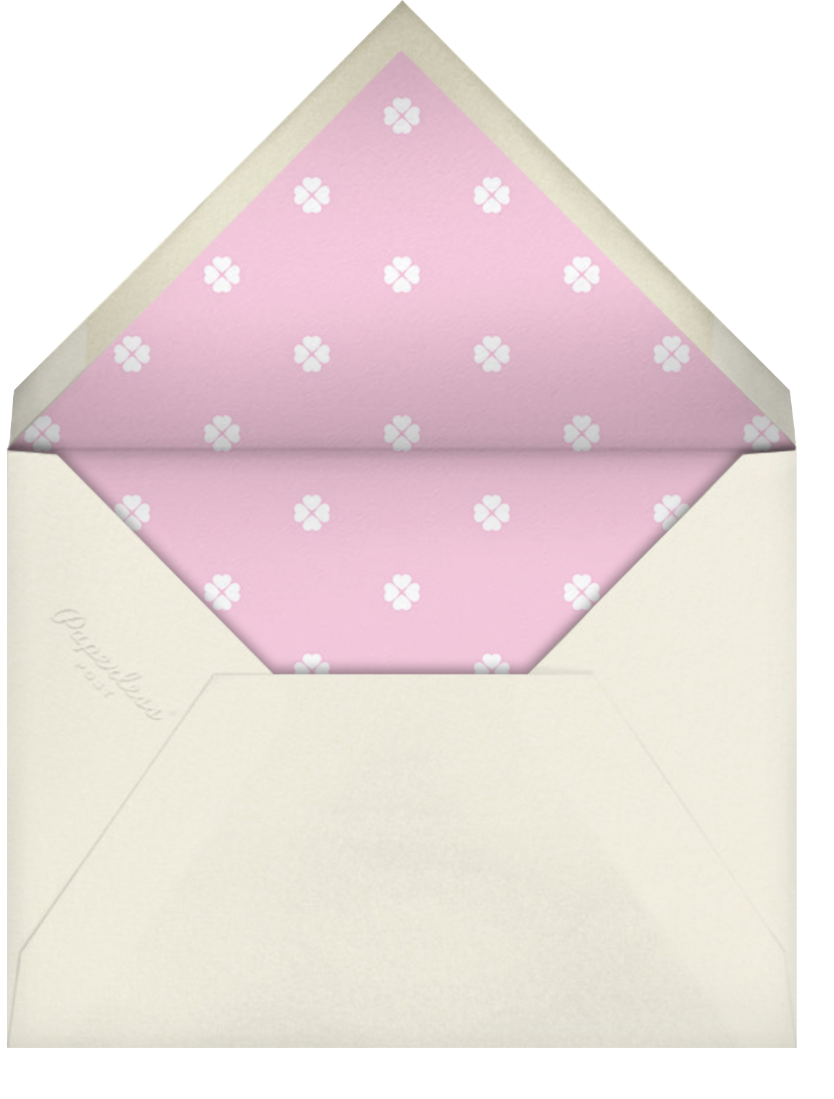 Stripe Hype - Mauve - kate spade new york - General entertaining - envelope back