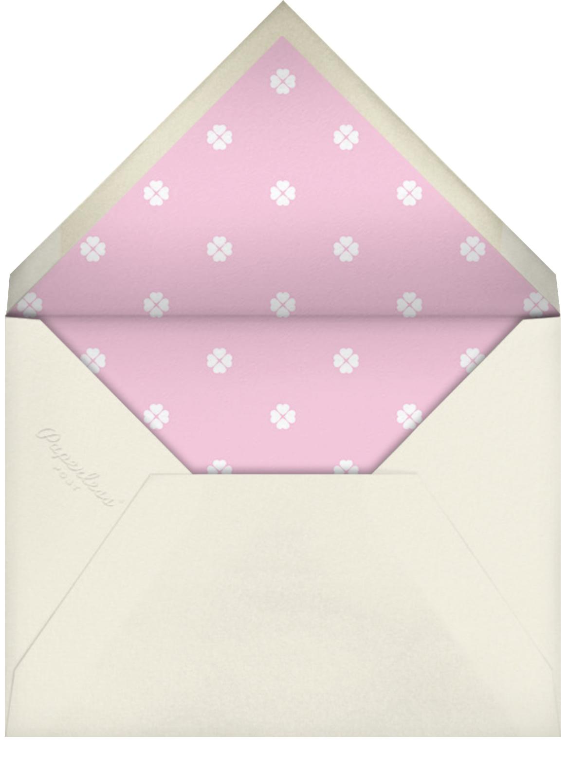 Stripe Hype - Mauve - kate spade new york - Adult birthday - envelope back