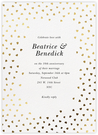 Hearts Of Mine - White - kate spade new york - Invitations for Parties and Entertaining