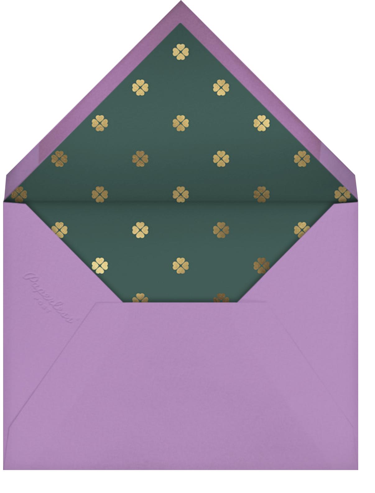 Daisy Field - Lilac - kate spade new york - General entertaining - envelope back