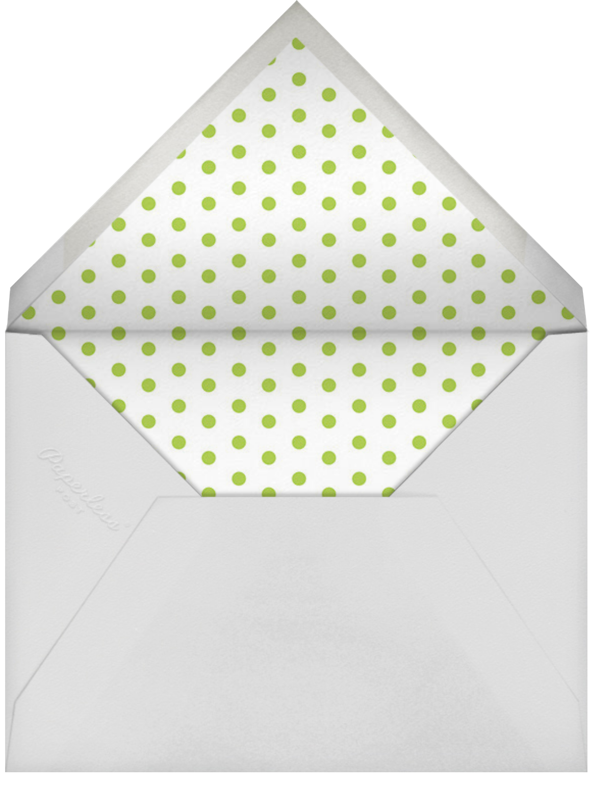 Carnaby (Tall) - Blue - Paperless Post - Envelope
