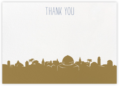 Jerusalem (Stationery) - Paperless Post - Stationery