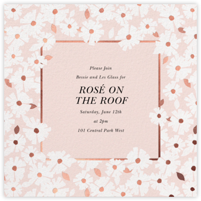 Daisy Field - White - kate spade new york - Kate Spade invitations, save the dates, and cards
