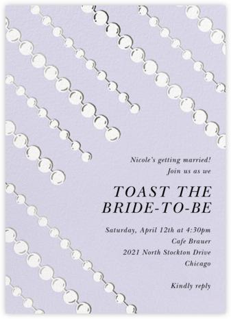Mom's Pearls - Taro - kate spade new york - Bridal shower invitations