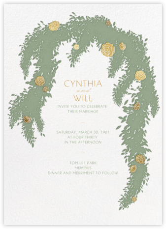 Arbor (Invitation) - Paperless Post - Wedding Invitations