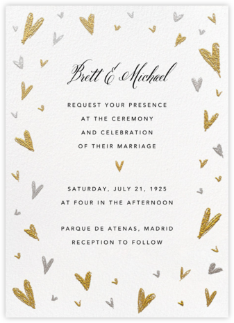 Smitten (Invitation) - Paperless Post - Wedding Invitations