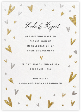 Smitten  - Paperless Post - Engagement party invitations