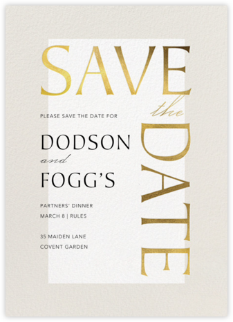 Heritage - Paperless Post - Event save the dates
