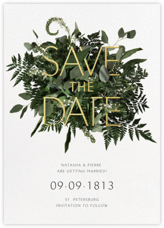 Love Abounds - Paperless Post - Wedding Save the Dates