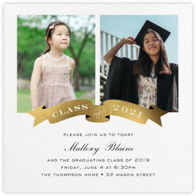 TBT Grad - Cheree Berry - Invitations