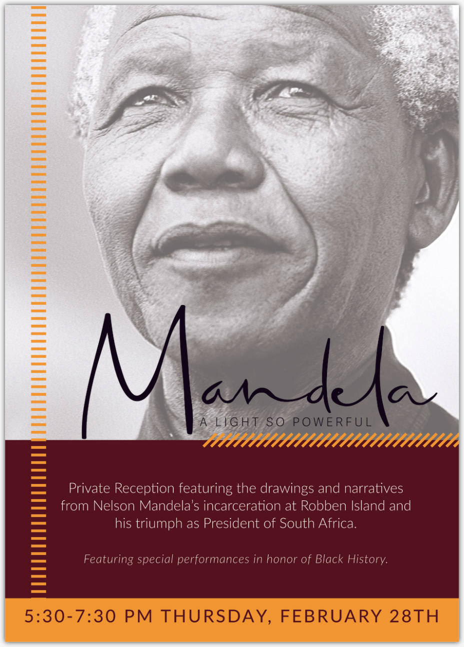 Enable images to view Special Invitation: Nelson Mandela Exhibit
