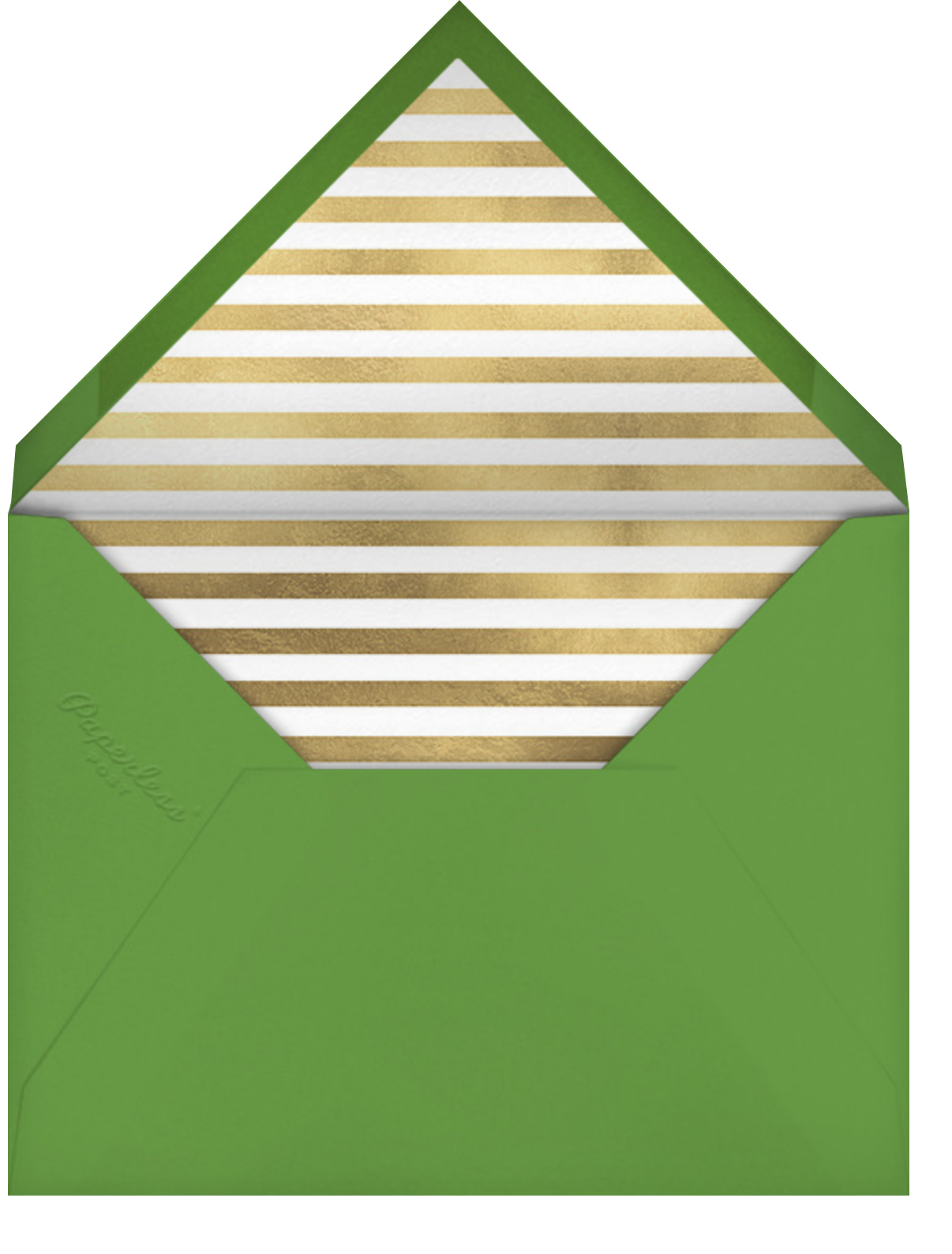 Tassel - Gold - kate spade new york - Graduation - envelope back