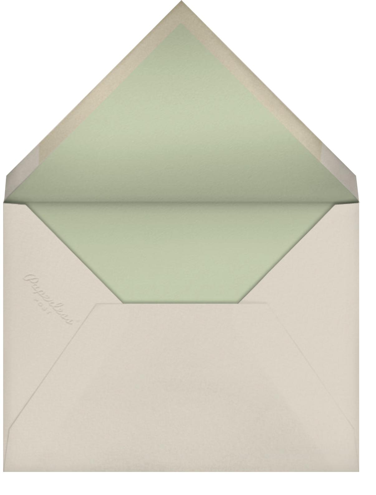 Farmhouse Flower - Paperless Post - Classic  - envelope back