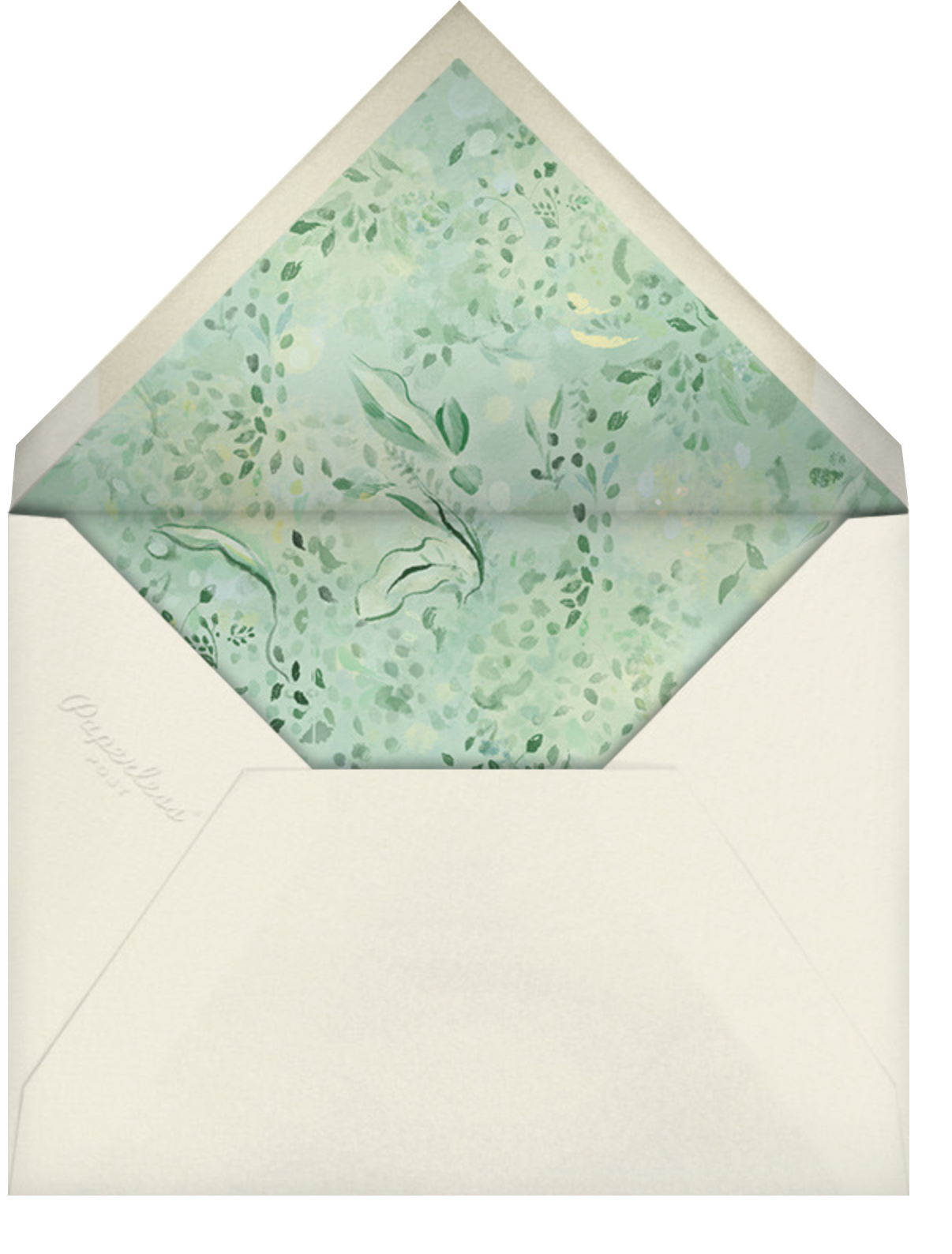Painted Arbor - Paperless Post - Classic  - envelope back