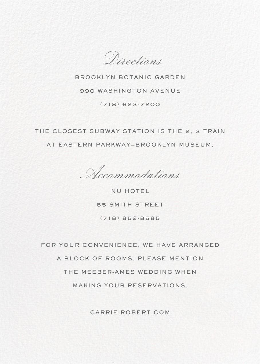 Mascarene (Invitation) - Green - Crane & Co. - All - insert front