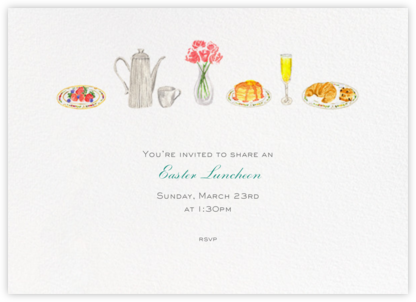 Brunch - Paperless Post - Easter Invitations