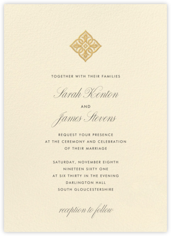Simple Seal - Crane & Co. - Wedding Invitations