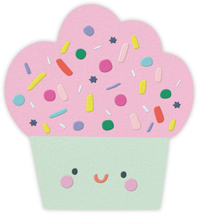 Sprinkle Hair - Little Cube - Online Kids' Birthday Invitations