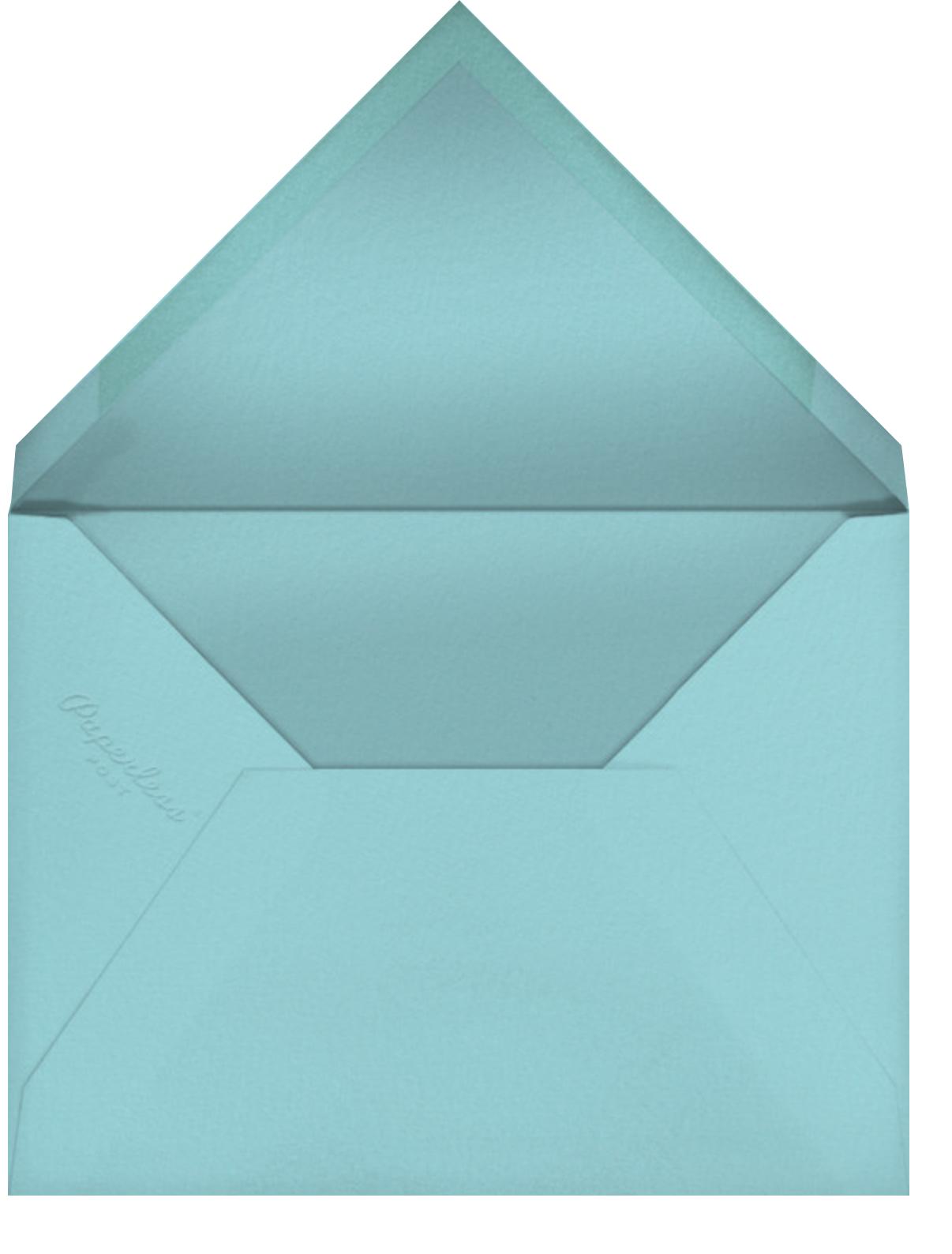 Wingspan - Meri Meri - Just because - envelope back