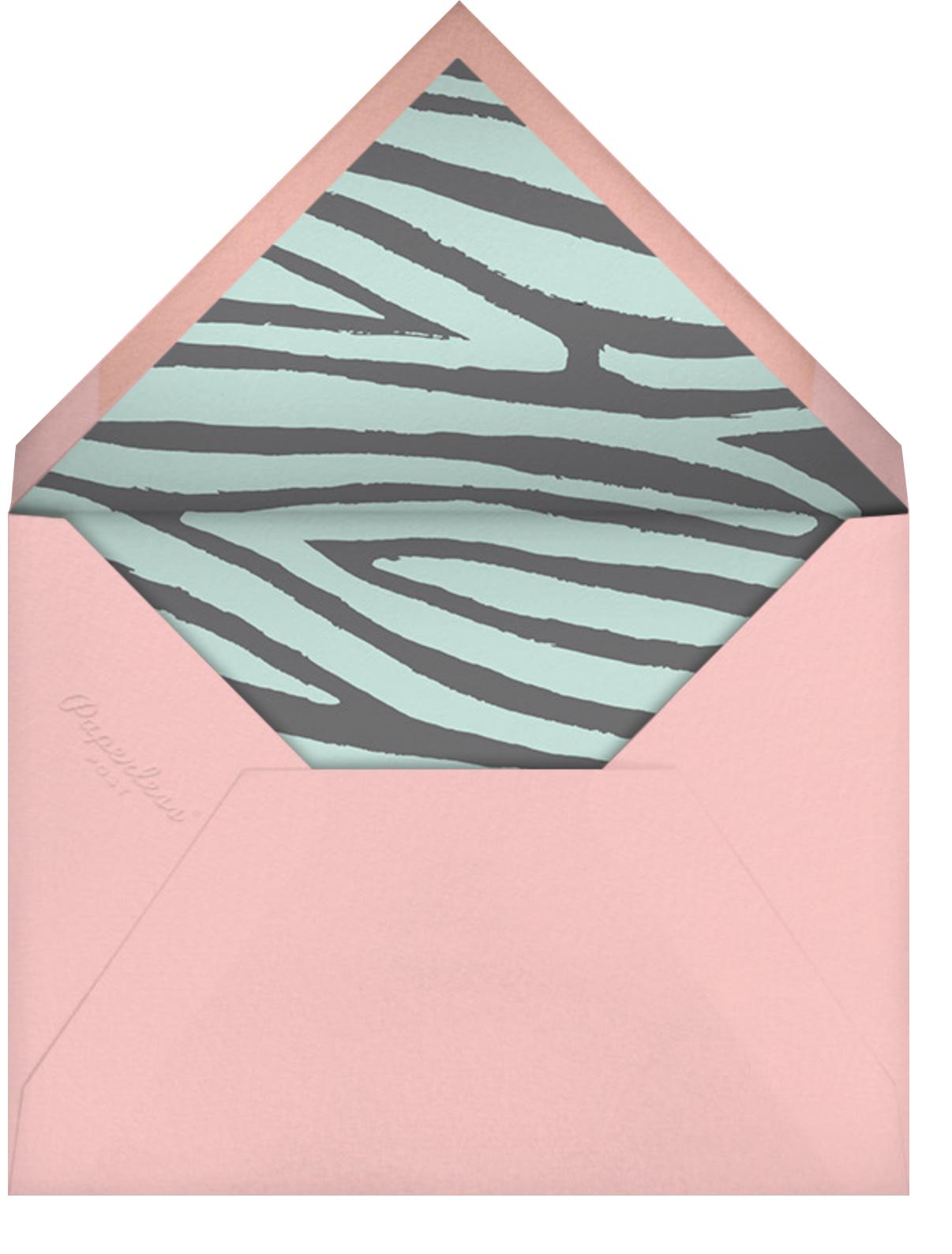 Spotted - Meri Meri - Kids' birthday - envelope back