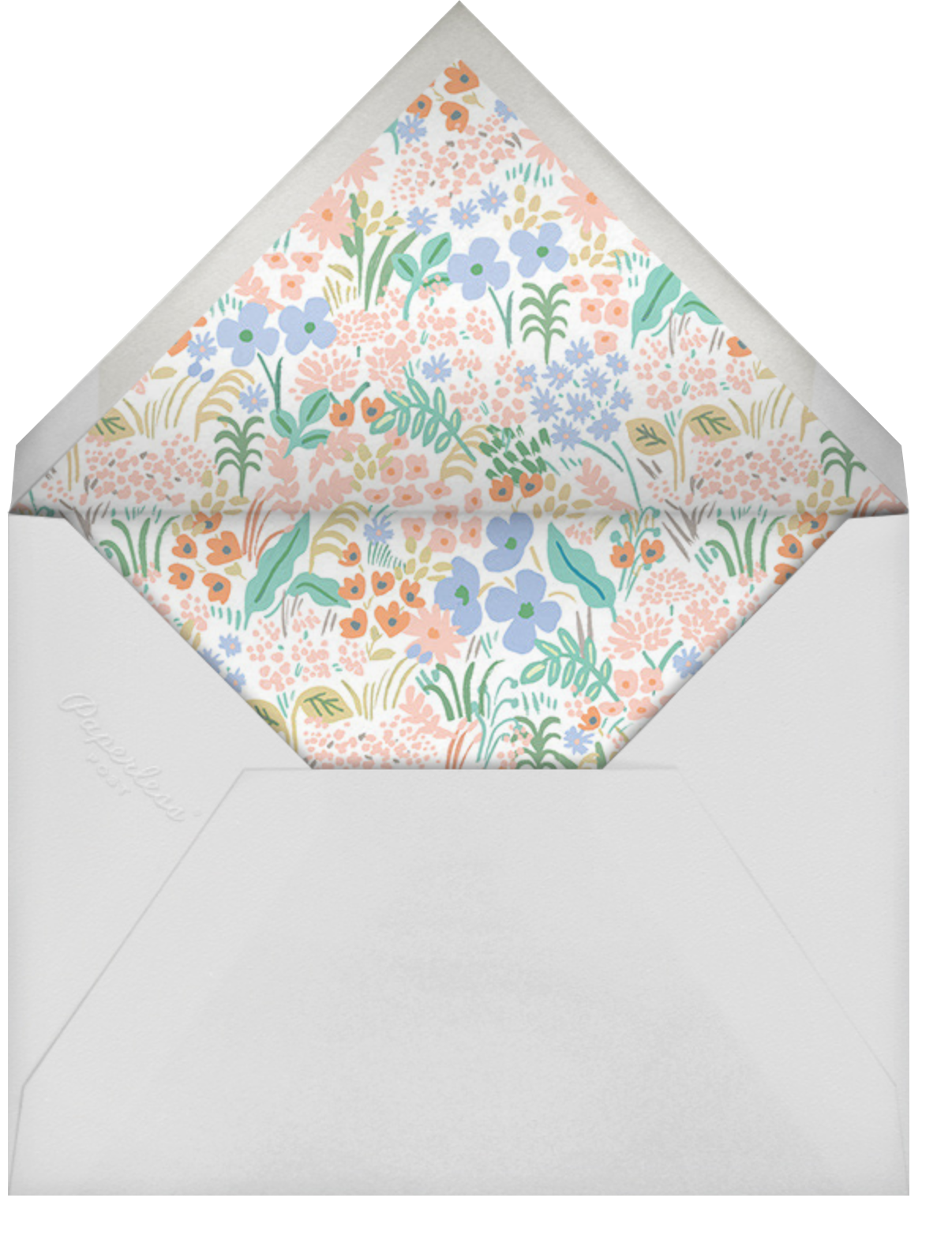 Meadow Welcome Little One - Rifle Paper Co. - Baby shower - envelope back
