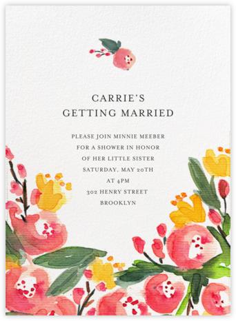 Floral Blot - Paper + Cup - Paper + Cup Wedding