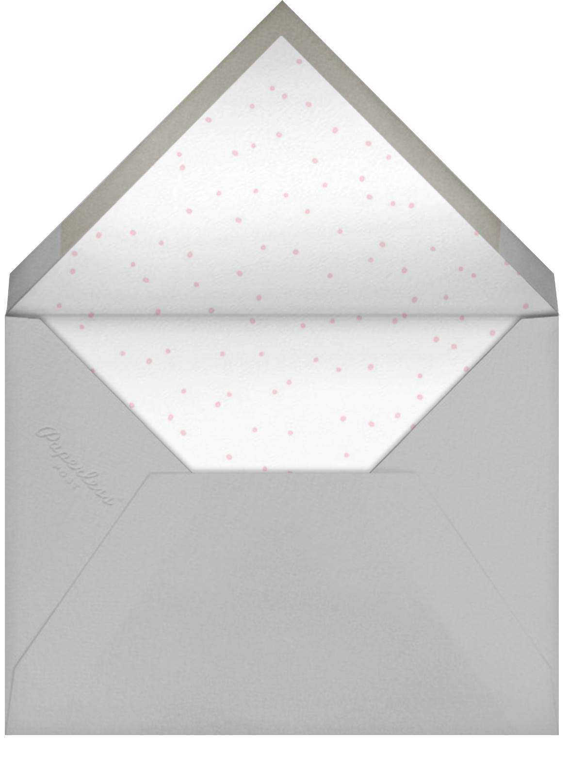 Baby Bunny Photo - Little Cube - Birth - envelope back