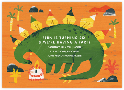 Partysaurus - Paperless Post -