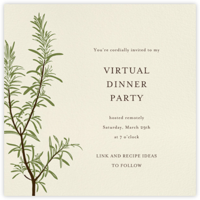 Rosemary - Paperless Post - Virtual Parties