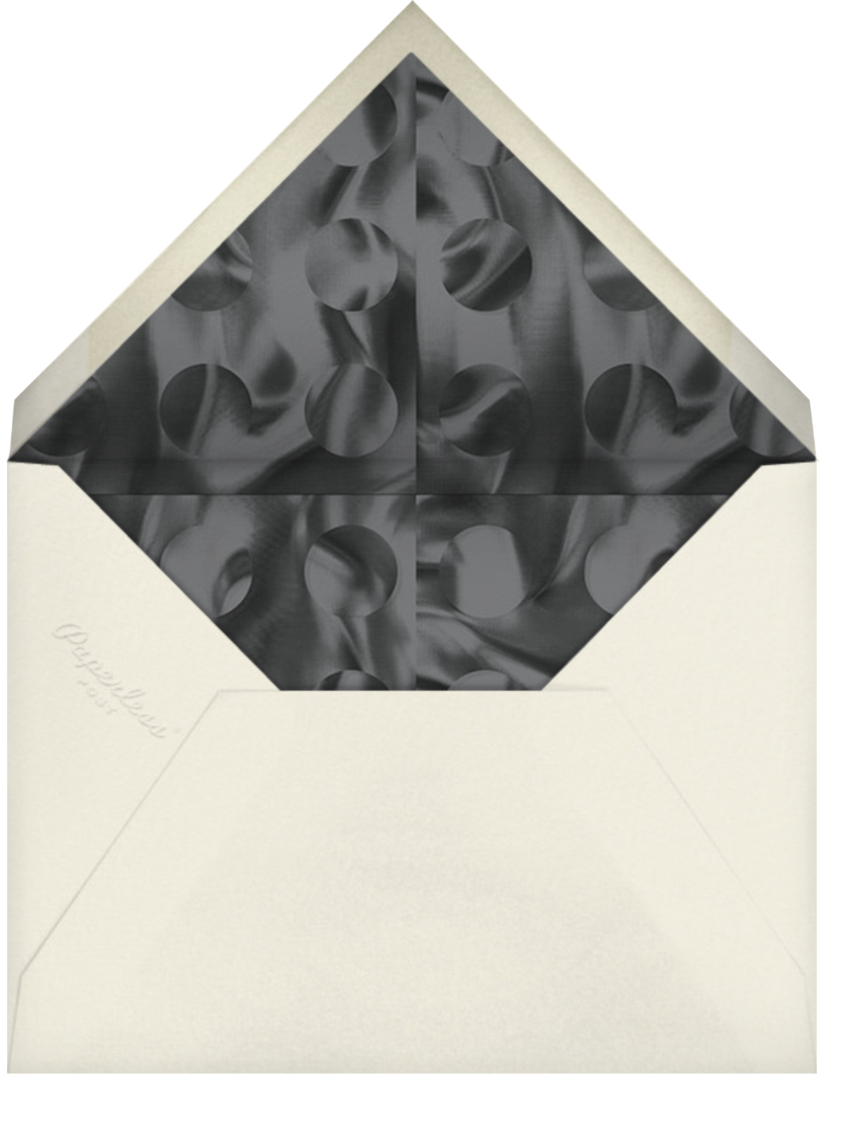 Telly - Paperless Post - Virtual parties - envelope back