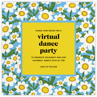 Happy Daisies (Krista Perry) - Red Cap Cards - Virtual Parties