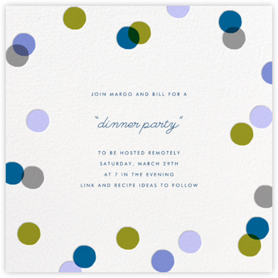 Carnaby - Blue - Paperless Post - Get-together invitations