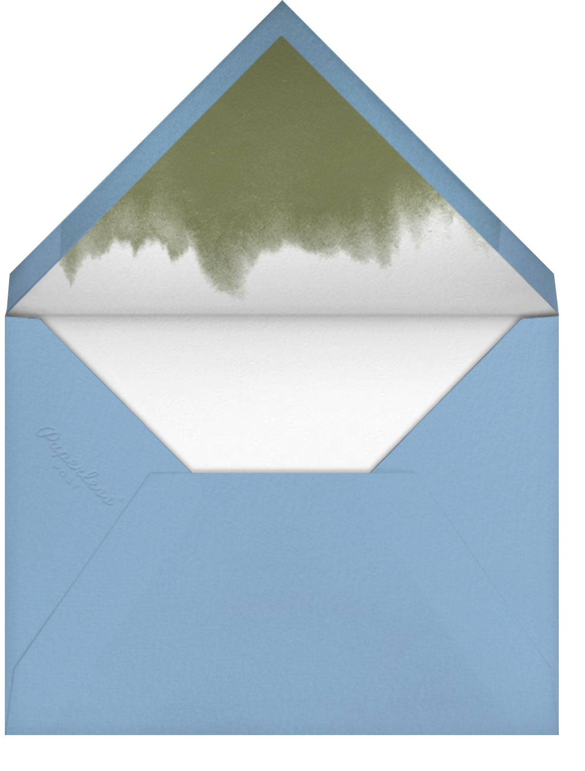 Snowdrop - Thinking of You - Paperless Post - Thinking of you - envelope back