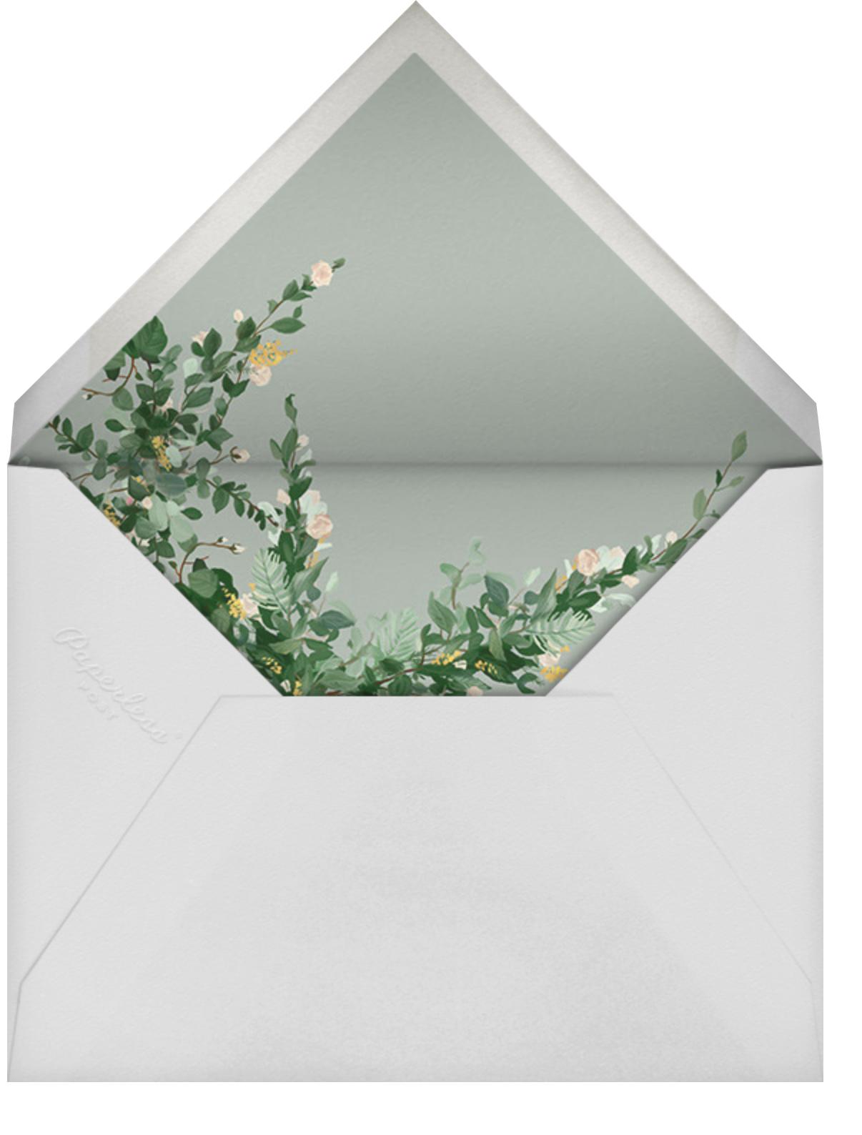 Rosedal - Athena - Paperless Post - Wedding postponement - envelope back