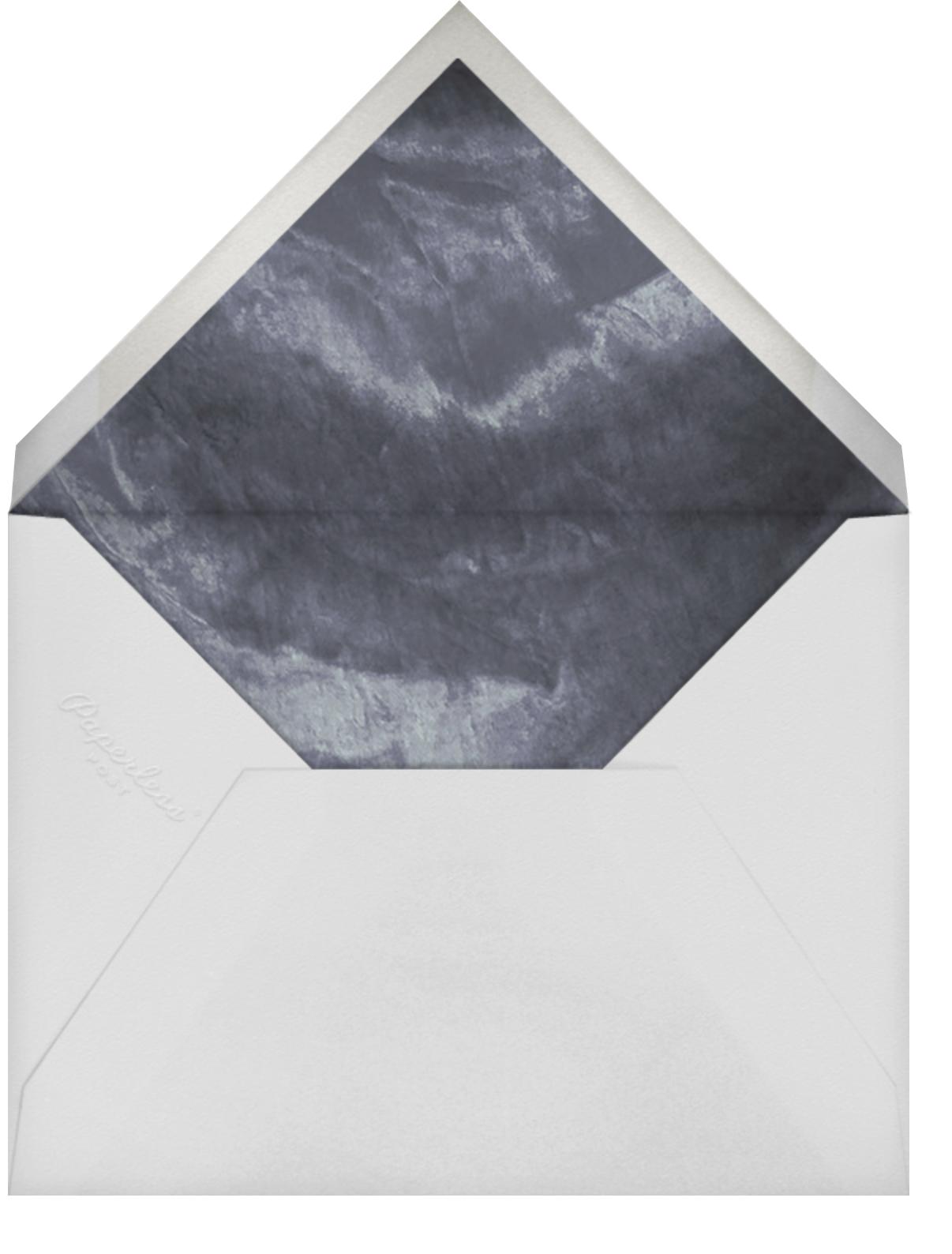 Ando - Gold - Paperless Post - Wedding postponement - envelope back