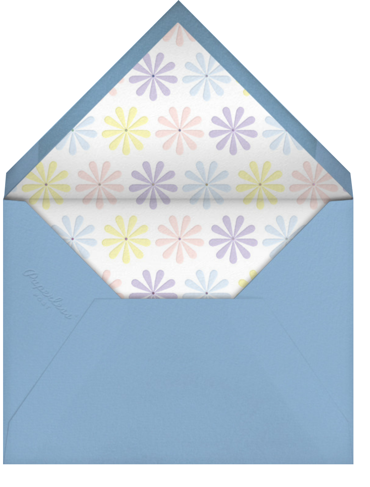 Spring Daisies - Paperless Post - Mother's Day - envelope back