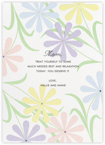 Spring Daisies - Paperless Post -