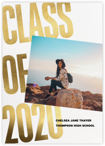 Big Things - Paperless Post - Graduation Announcements