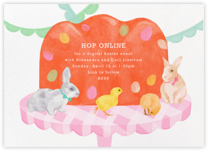 Easter Dessert - Paperless Post - Easter Invitations