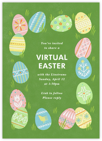 Bunny Feeling - Paperless Post - Easter Invitations
